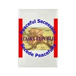 Alaska-1 Rectangle Magnet (100 pack)