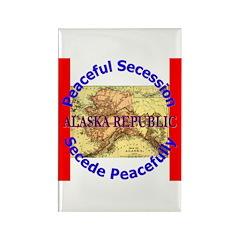 Alaska-1 Rectangle Magnet (10 pack)