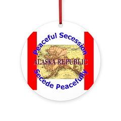 Alaska-1 Ornament (Round)
