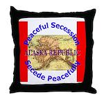 Alaska-1 Throw Pillow