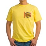 Alaska-3 Yellow T-Shirt