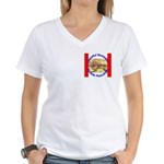 Alaska-1 Women's V-Neck T-Shirt