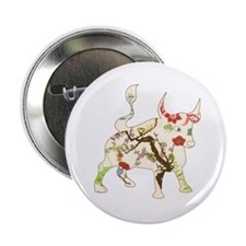 "Year of the Ox Art 2.25"" Button"