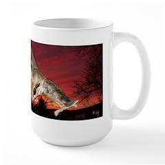 Flying Squirrel Section Large Mug