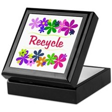 Recycle Keepsake Box