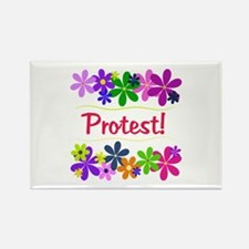 Protest! Rectangle Magnet
