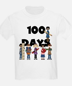 School Children 100 Days T-Shirt
