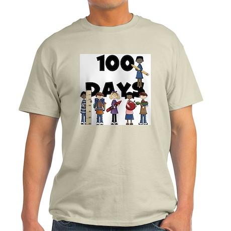 School Children 100 Days Light T-Shirt
