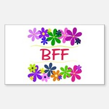 BFF Rectangle Decal