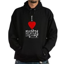 I Love Fighters Hoodie