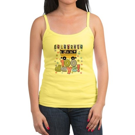 Celebrate 100 Days of School Jr. Spaghetti Tank