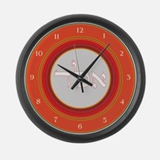 PROTECTION FROM EVIL EYE Large Wall Clock