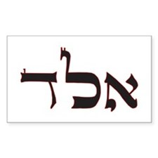 PROTECTION FROM EVIL EYE Rectangle Sticker 10 pk)