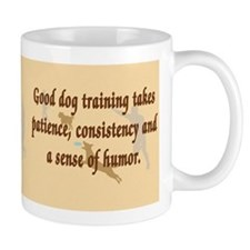 Good Dog Training Small Mug