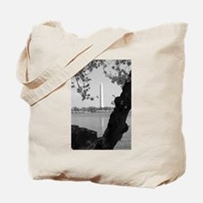 Cherry Trees Frames Tote Bag