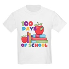 Books 100 Days T-Shirt