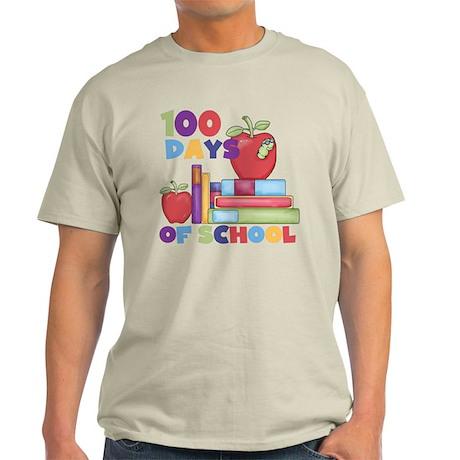 Books 100 Days Light T-Shirt