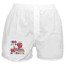 Books 100 Days Boxer Shorts