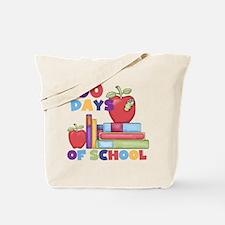 Books 100 Days Tote Bag