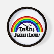 Riyah-Li Designs Tasty Rainbow Wall Clock