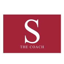 S The Coach Postcards (Package of 8)