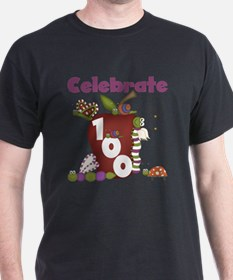 Bugs and Apple 100 Days T-Shirt