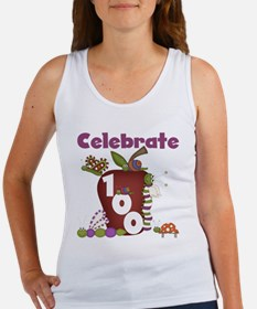 Bugs and Apple 100 Days Women's Tank Top