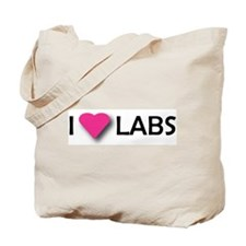 I LUV LABS Tote Bag