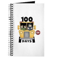 School Bus 100 Days Journal