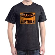 Austrian Warning Sign T-Shirt