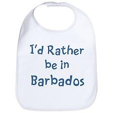 Rather be in Barbados Bib