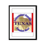 Texas-3 Framed Panel Print