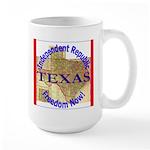 Texas-3 Large Mug