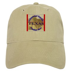 Texas-3 Baseball Cap