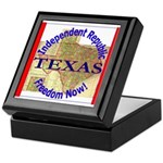 Texas-3 Keepsake Box