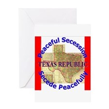 Texas-1 Greeting Card