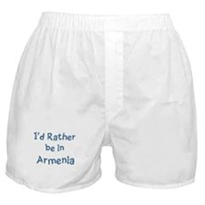 Rather be in Armenia Boxer Shorts