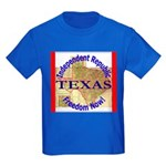 Texas-3 Kids Dark T-Shirt