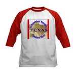 Texas-3 Kids Baseball Jersey