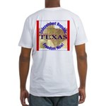 Texas-3 Fitted T-Shirt