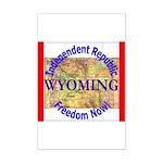 Wyoming-3 Mini Poster Print