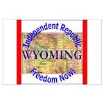 Wyoming-3 Large Poster
