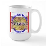 Wyoming-3 Large Mug