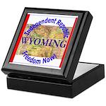 Wyoming-3 Keepsake Box