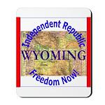 Wyoming-3 Mousepad