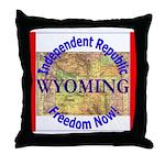 Wyoming-3 Throw Pillow
