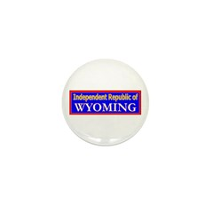 Wyoming-2 Mini Button (100 pack)