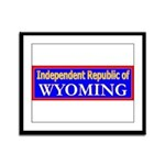 Wyoming-2 Framed Panel Print