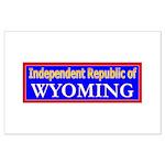 Wyoming-2 Large Poster