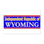 Wyoming-2 Mini Poster Print